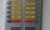Ena izmed mnogih montaž domofonov v stanovanjskem bloku