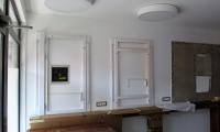 Fina montaža LED svetil,stropnih,osvetlitev ogledal...frizerski salon Erika v Sežani