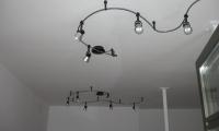 Montaža razsvetljave pri kompletni obnovi stanovanja v Kopru