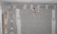 Inštalacija,eno od del na novogradnji v Artvižah