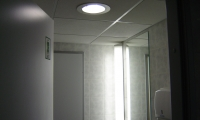 Razsvetljava v poslovnem objektu na Dunajski v Ljubljani