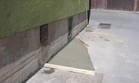 Vzdrževalni poseg na odvodni kanalizacijski cevi