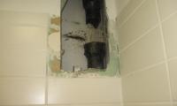 Delna zamenjava kanalizacijske vertikale v domu upokojencev v Sežani