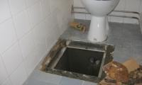 Intervencijsko vzdrževalno delo v stanovanjskem bloku na Kozini