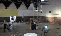 Obnova dvorane,vaški dom ,Kobjeglava - pleskanje,elektroinštalacije...