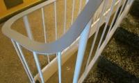 Barvanje ograje na stopnišču stanovanjski blok v Postojni