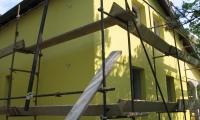 Izdelava fasade na stanovanjski hiši