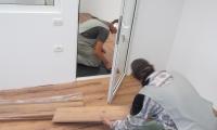 Polaganje laminata - poslovni prostori